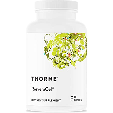 Thorne Research - ResveraCel - Nicotinamide Riboside with Resveratrol and Cofactors - Supports Healthy Aging - 60 Capsules