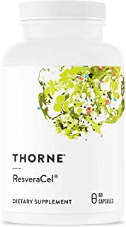 Thorne Research - ResveraCel - Nicotinamide Riboside (Niagen) with Resveratrol and Cofactors - Supports Healthy Aging - 60...