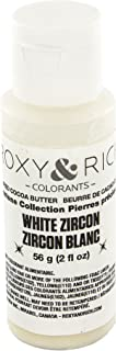 Cocoa Butter, Gemstone Zircon White 2 Ounces by Roxy & Rich