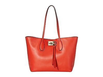 Salvatore Ferragamo The Studio Tote (Arid Coral) Handbags