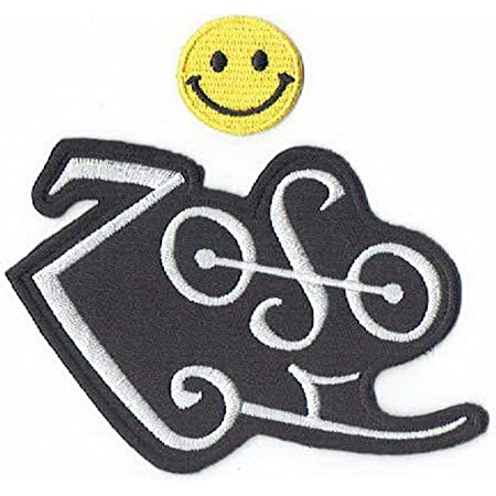 ZOSO ROCK MUSIC HEAVY METAL LED ZEPPELIN PUNK Embroidered Patch Iron On Sew Logo