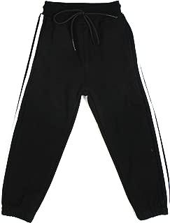 Bienzoe Boy's Cotton Fleece Thermal Pull-On Jogging Pants