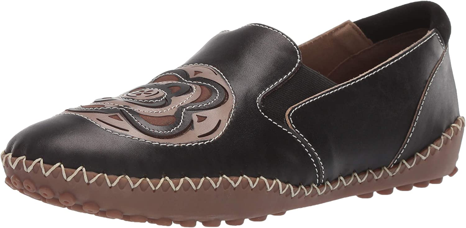 L'Artiste by Spring Step Womens Sandee Moccasin