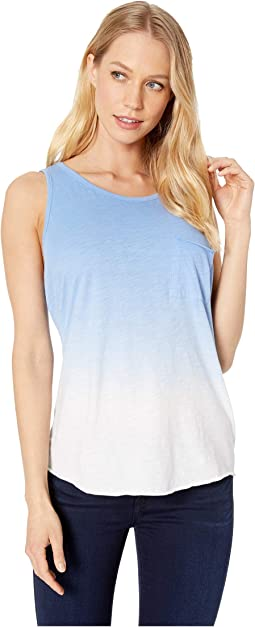 Ombre Sleeveless with Lace-Up Back
