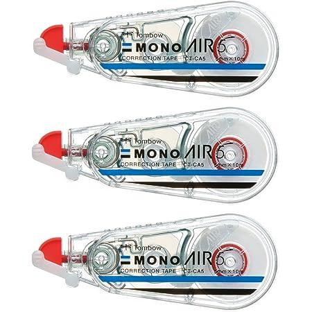 トンボ鉛筆 修正テープ MONO モノエアー 5mm 3個 KPB-325