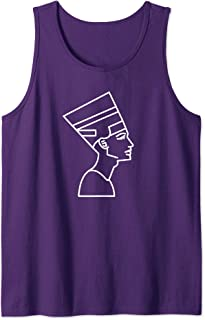 Egyptian Queen Nefertiti T-Shirt Egypt Pharaoh Tank Top
