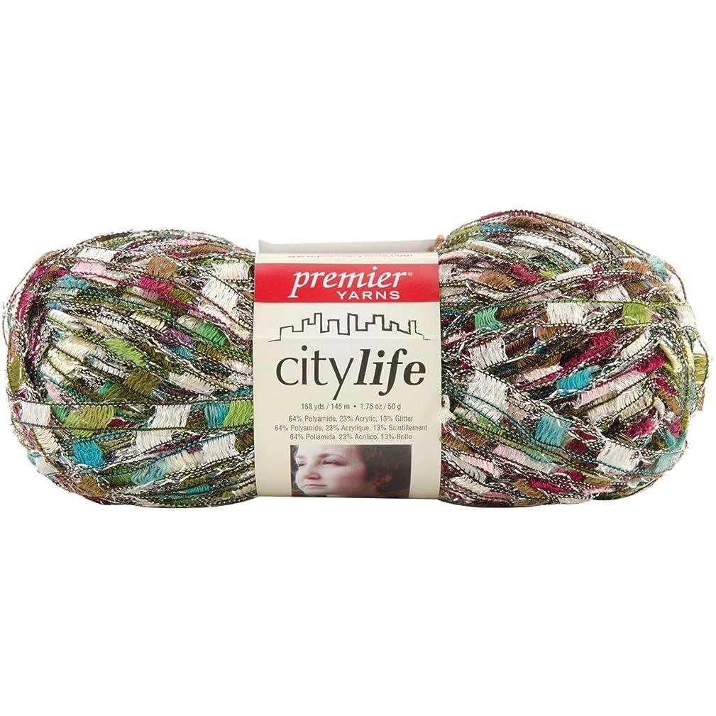 Premier Yarn City Life Ladder Yarn, Corsage, 3 Pack