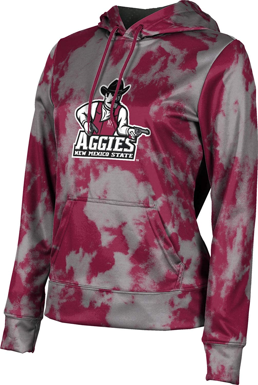 ProSphere New Mexico State University Girls' Pullover Hoodie, School Spirit Sweatshirt (Grunge)
