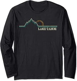 Summer Retro Lake Tahoe California Long Sleeve T-Shirt