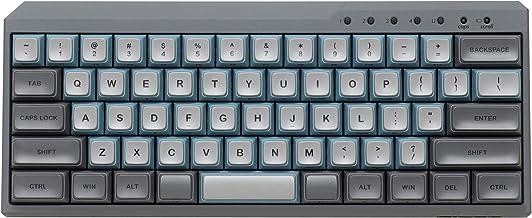 FILCO MAJESTOUCH MINILA-R Convertible 63 US ASCII Mech Keyboard SkyGray Key Switch MX Blue (FFBTR63MC/ESG)