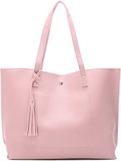 Myhozee Handtasche Damen Groß - Schultertasche Leder Shopper Casual Shopping Bag Umhängetasche Tasche Henkeltasche Handtas...
