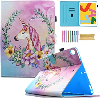 AMOTIE Funda para iPad 10.2 2019 2020/iPad Air 10.5 2019/iPad Pro 10.5 2017 – Ultra Slim ligero soporte Smart Case Shell p...