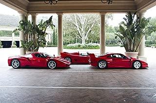 Gifts Delight Laminated 28x18 Poster: Ferrari Supercars - F40, F50, and Enzo Ferrari Supercars