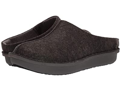 Clarks Step Flow Clog (Black Felt) Men