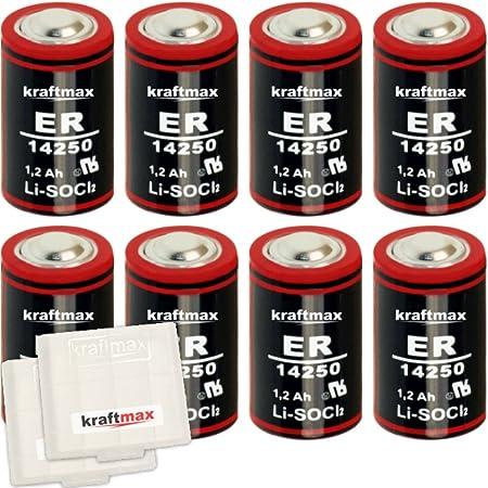 8x Kraftmax Ls 14250 1 2 Aa Mignon Lithium 3 6v Elektronik