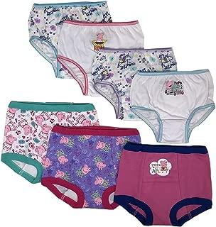 Peppa Pig Baby-Girls Girls 3pk Training Pants & 4pk Panty Underwear - Multi