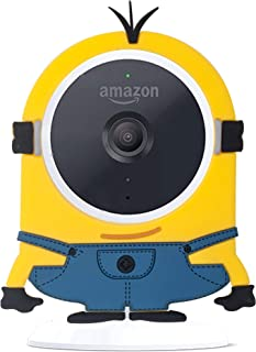 Funda de Camuflaje para cámara de Seguridad Interior de Amazon Cloud CAM decoración de Piel (Amarillo)