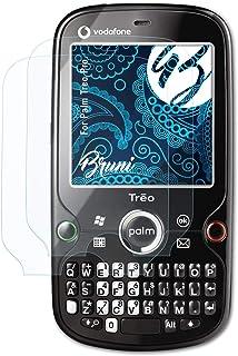 Bruni Skärmskydd är kompatibel med Palm Treo Pro Film, kristallklart Skyddsfilm (2X)