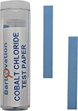 Cobalt Chloride Moisture and Humidity Detection Test Paper [Vial of 100 Strips]