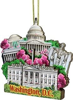 City-Souvenirs 3D Washington DC Christmas Ornament
