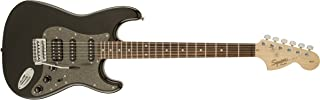 Fender 310700564 Right Handed Affinity Fat Stratocaster Electric Guitar (Montego Black Metallic, 6-Strings)