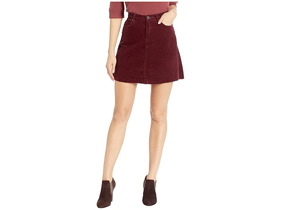 Blank NYC Corduroy Mini Skirt in Merlot (Merlot) Women