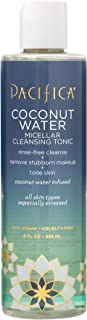 Pacifica Beauty Coconut Water Micellar Cleansing Tonic, 8 Fluid Ounce