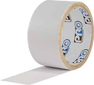 "ProTapes Pro Flex Flexible Butyl All Weather Patch and Shield Repair Tape, 50' Length x 2"" Width, White (Pack of 1)"
