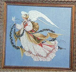 Angel of Summer - Counted Cross Stitch Leaflet - Lavender & Lace