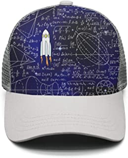 35e89de9 ZLJUN Unisex Math Equations Physics DNA Quick Dry Mesh Snapback Baseball Cap  Adjustable
