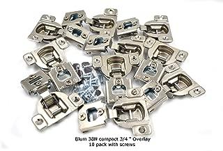 Blum 105 Degrees Compact 38N Series 3/4