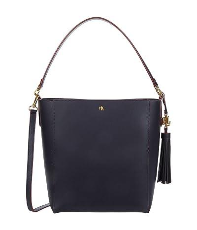 LAUREN Ralph Lauren Adley 25 Crossbody (Lauren Navy/RL 2000 Red) Handbags