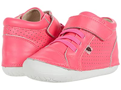 Old Soles Pave Cheer (Infant/Toddler) (Neon Pink) Girls Shoes