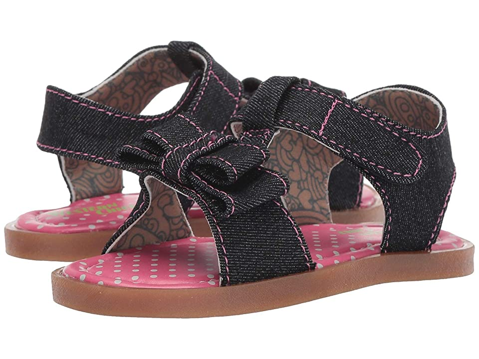 Western Chief Kids Willow (Toddler/Little Kid) (Black) Girls Shoes