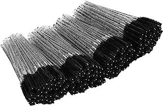 Tifanso 200PCS Eyelash Brush Disposable Mascara Brush Wand for Lashes Spoolie brushes Eyebrow Spoolie Eyelash Extension Su...