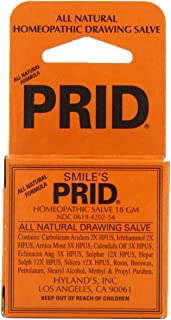 Smile's PRID Drawing Salve, Natural Homeopathic Relief of Topical Pain and Irritation, 18 Grams