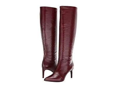 rag & bone Beha Knee High Boot (Mahogany) Women