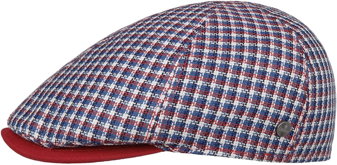 Outstanding Lierys Mitchell Check Flat Cap Ranking TOP12 Italy in Made Men -