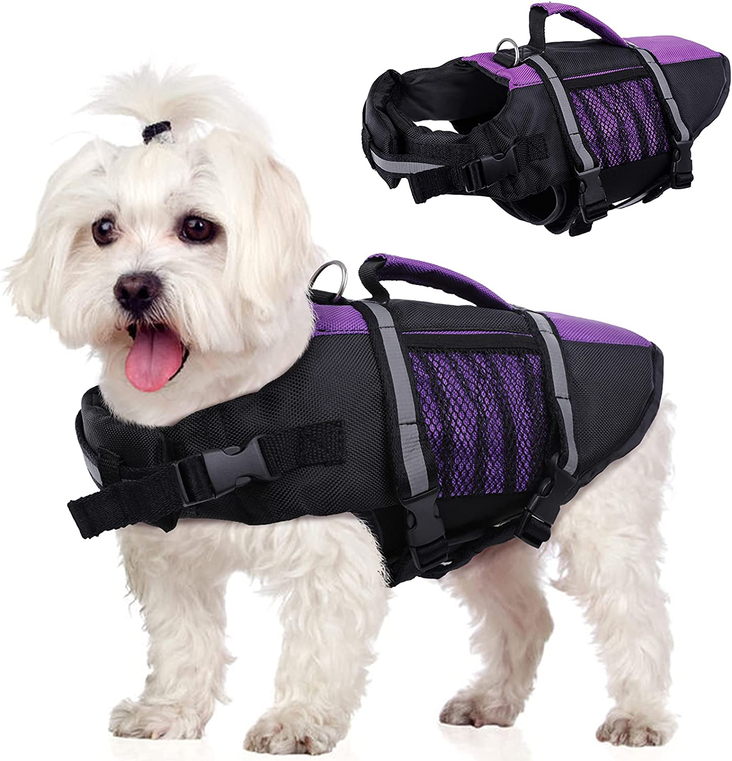 Summer Dog Life Jackets for Swimming S Doggy Max Superlatite 45% OFF Safety Lifevest Pet