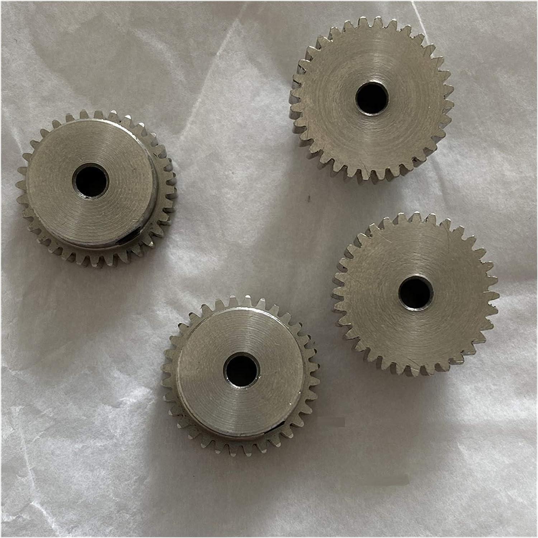 BAIJIAXIUSHANG 2PCS Discount mail order Gears 0.5M 16-31Teeth El Paso Mall Stainless 5mm Gear 3