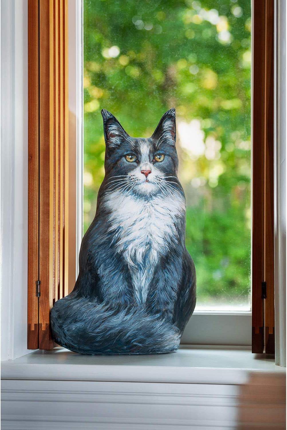 Fiddler's Elbow Blue SEAL limited product outlet Maine Coon Cat Decorative Stop Door
