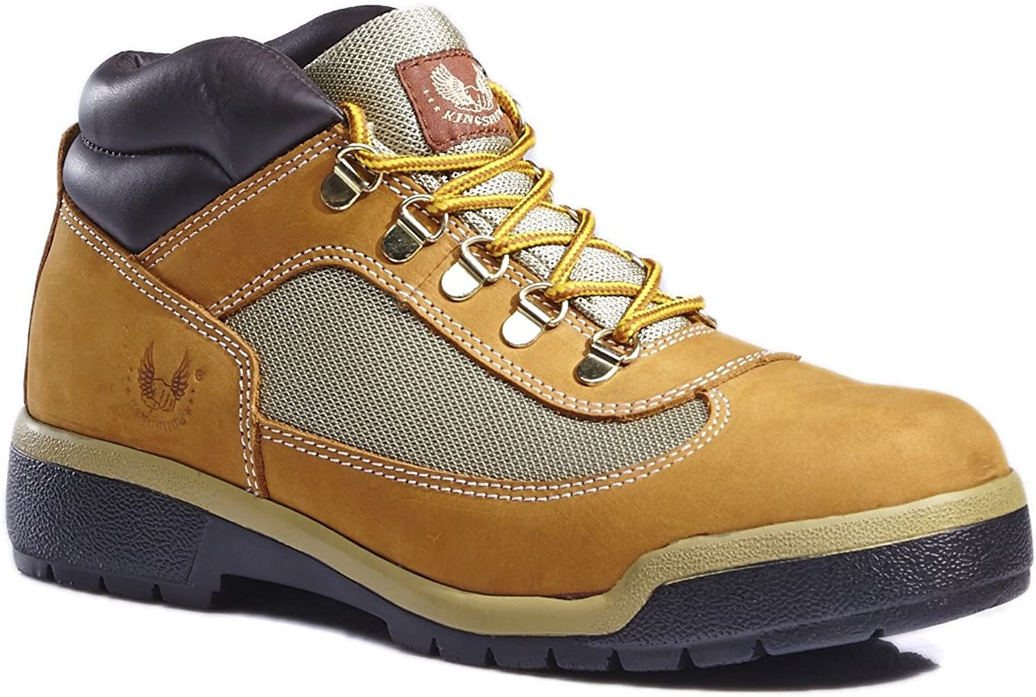 KINGSHOW Men's Classic Work Boots