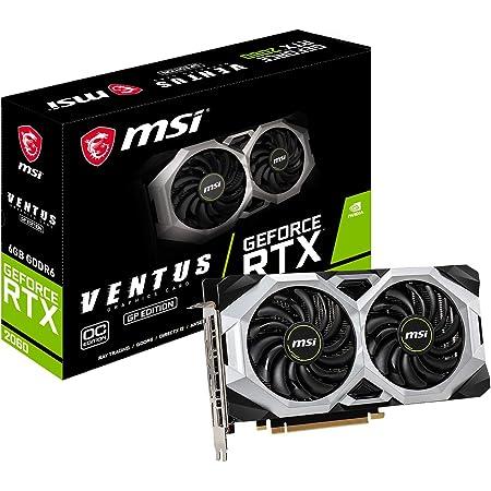 MSI GeForce RTX 2060 VENTUS GP OC グラフィックスボード VD7626