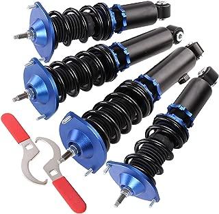 For Mazda Miata Na Nb Adjustable Coilover Lowering Springs Strut Shock Blue