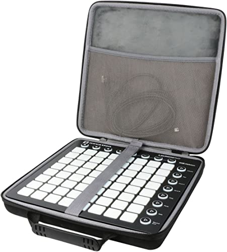 Étui de Voyage Rigide Housse Case pour Novation LaunchPad MK2 Ableton Live contrôleur Midi par co2CREA (housse Pour L...