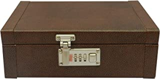 Laveri 8 Watches and Jewellery Box - Brown