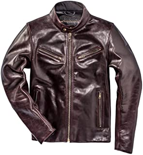 Dainese Patina72 Cordovan Motorcycle Leather Jacket (60 Euro / 50 US)