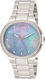 Swarovski Women's Quartz Watch, Analog Display and Stainless Steel Strap 5205990