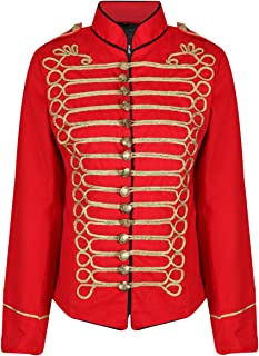 red hussar jacket