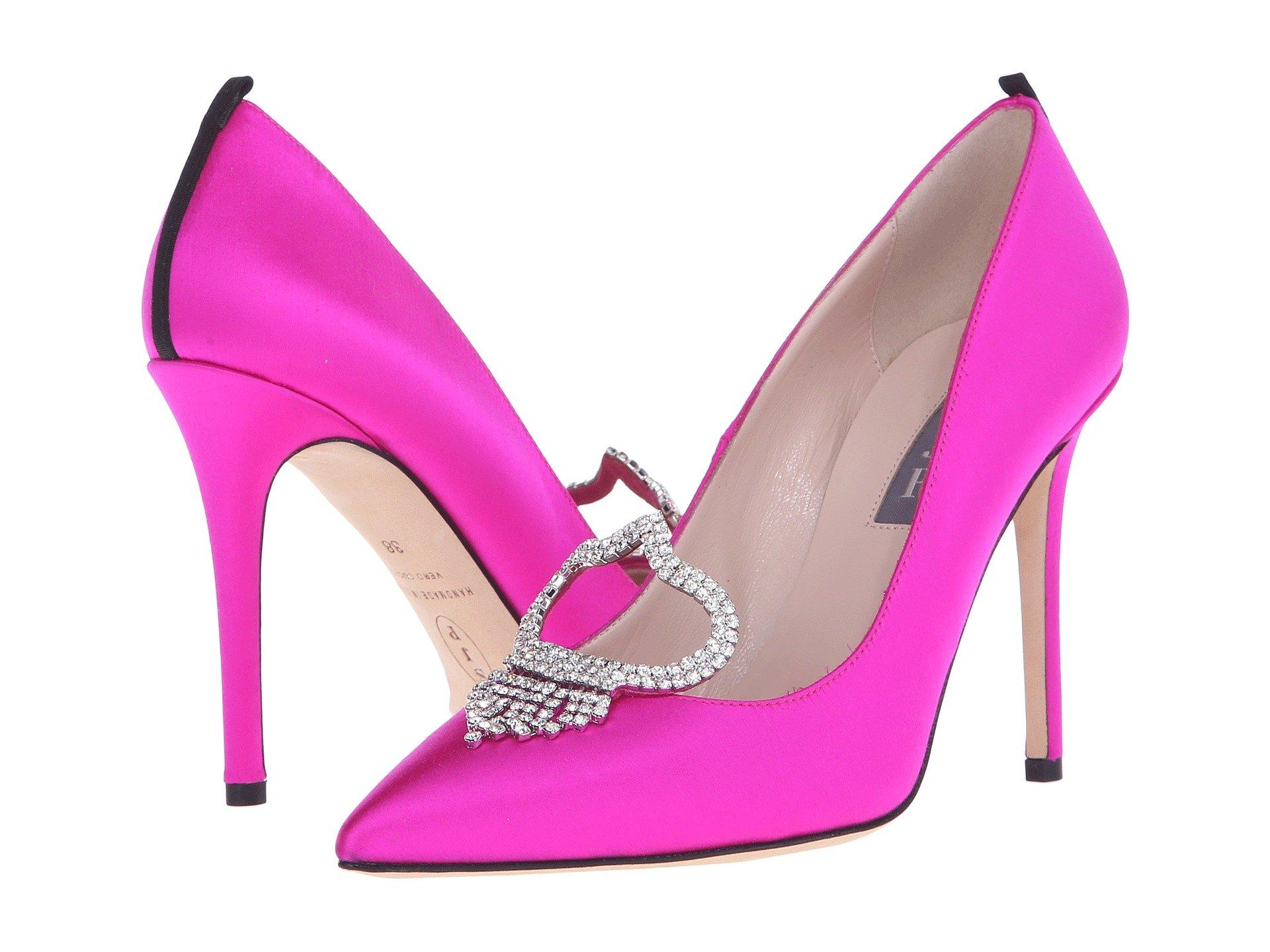 Charlotte, Candy Pink Satin